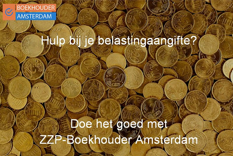 Geld - Aangifte Inkomsten Belasting met Boekhouder Amsterdam