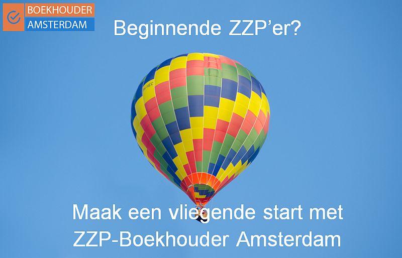 hete-lucht ballon - maak een vliegende start met zzp boekhouder amsterdam